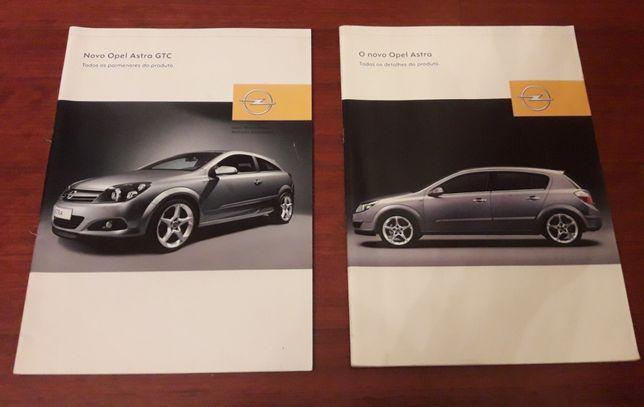 Opel Astra H GTC e 4p - Catálogos