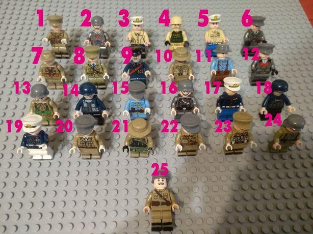 Лего человечки военные. Вторая мировая.