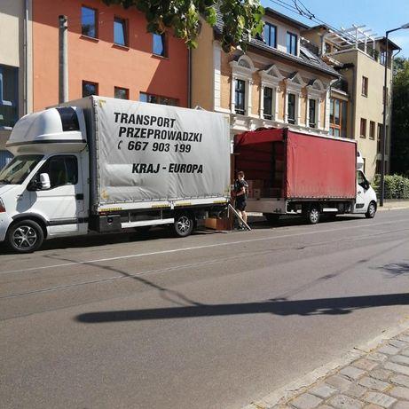 Transport Przeprowadzki + Ekipa Tanio Kraj Europa Ubezpieczenie