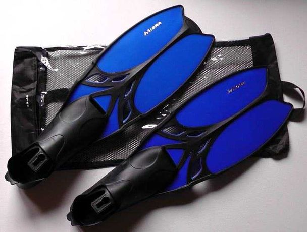 Płetwy MIGRA 39-40 do nurkowania pływania + worek