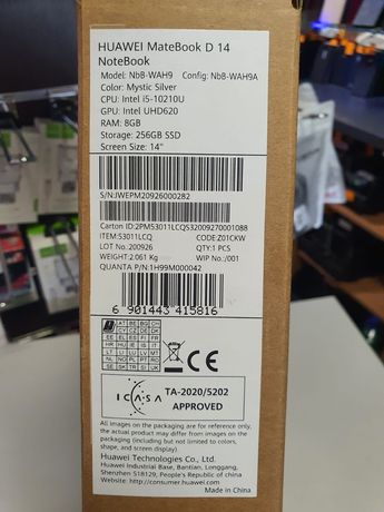 Huawei MateBook D 14 Notebook ,laptop