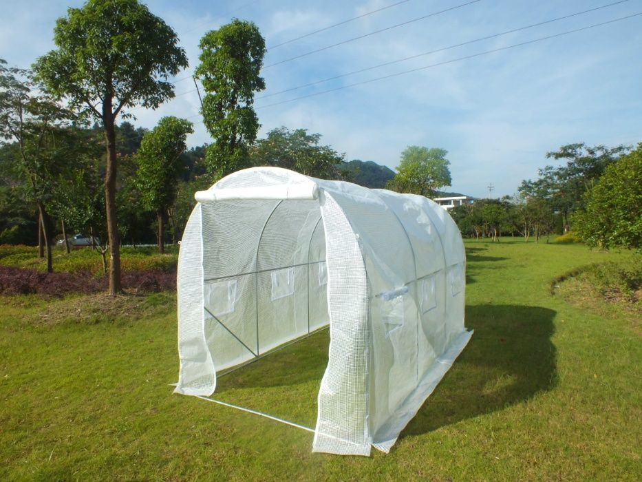 Estufa agrícola 3,50mtx2mtx2mt - qualidade top