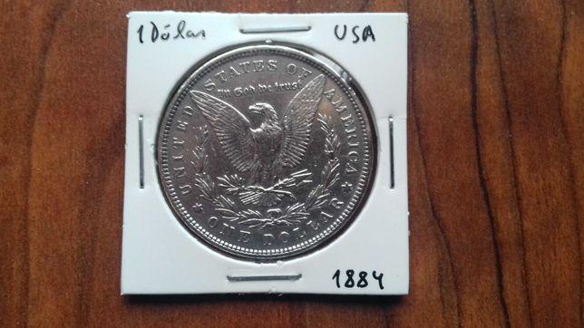 Moeda 1 Dólar USA 1884