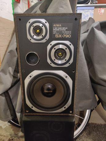 Aiwa sx-790 Kolumny 55w 2 sztuki Uszkodzone