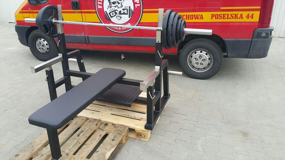 Ławka do wyciskania, sztanga gryf olimpijski plus 105kg obciążenia Częstochowa - image 1