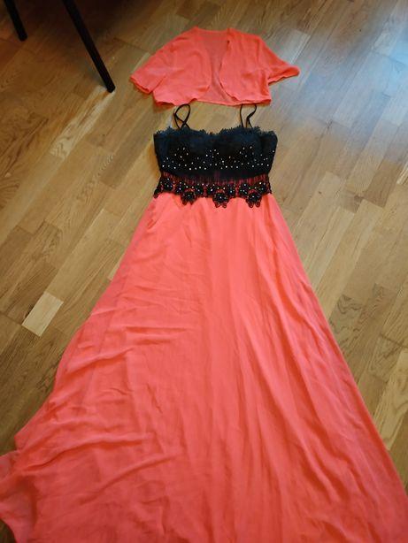 Платье+ болеро размер S- M
