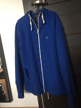 Niebieska kurtka Vintage style