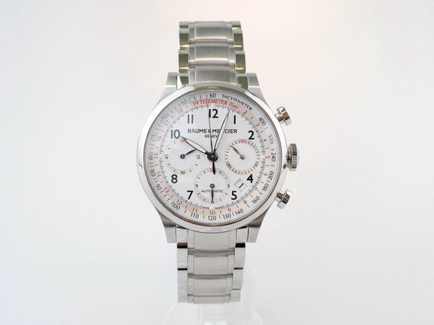 Мужские новые часы Baume & Mercier Capeland Chronograph 42 мм