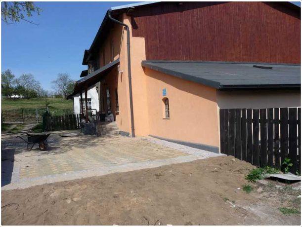 Nieruchomość z budynkiem mieszkalno-gospodarczym Borowy Młyn