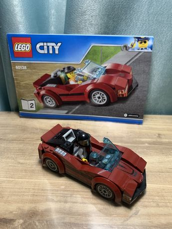 Lego city оригинал 60138 машинка