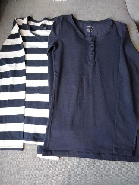Bluzki koszulki długi rękaw r. M 40/42