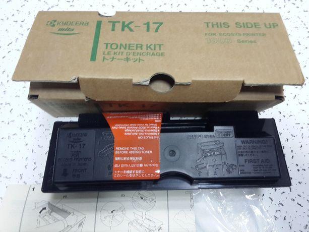 Тонер картридж Kyocera TK-17 для принтера FS-1000/+/1010/