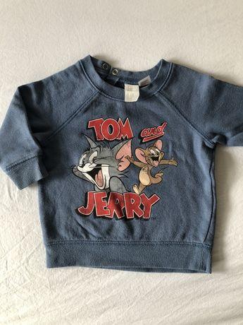Bluza Tom&Jerry h&m r.74