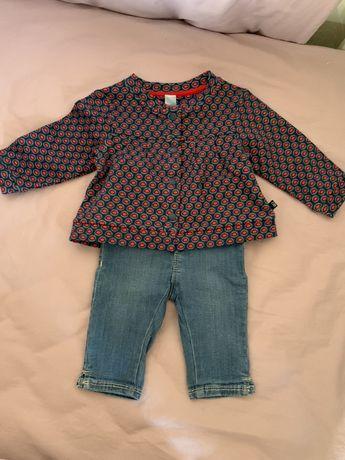 Spodnie i bluzeczka Obaibi rozmiar 59