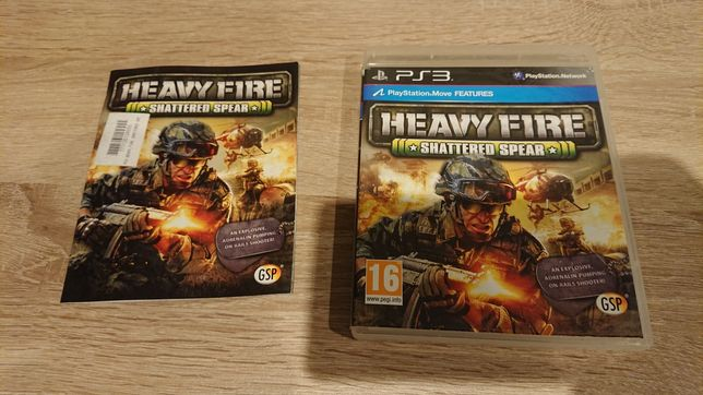 Heavy fire shattered spear ps3 unikat!!!