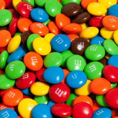 M&M's цукерки дуже смачні