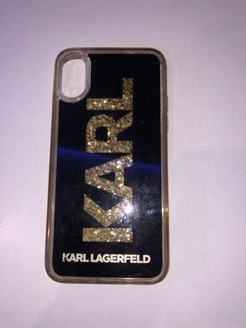 Case iphone X Karl Lagerfeld