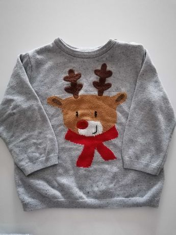 Sweterek H&M rozmiar 86 cm
