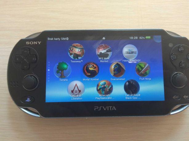 PS Vita fat, Karta 128gb, HENKAKU