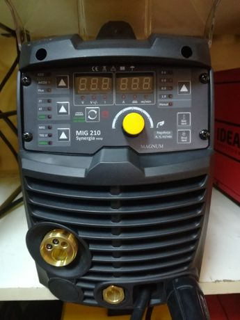 Spawarka Magnum MIG/MAG 210 Easy Synergia migomat autoryzowany dealer