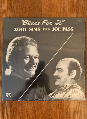 Zoot Sims Plus Joe Pass – Blues For 2, виниловый диск