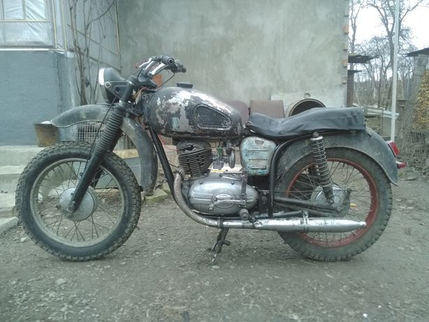 Мотоцик Панония т4 1968