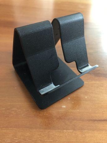 Stojak na telefon lub tablet aluminiowy czarny