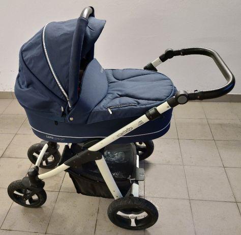 Wózek Baby Design Lupo Comfort 2 w 1 (gondola i spacerówka) + adaptery
