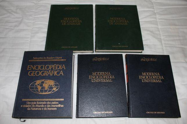 varios livros usados