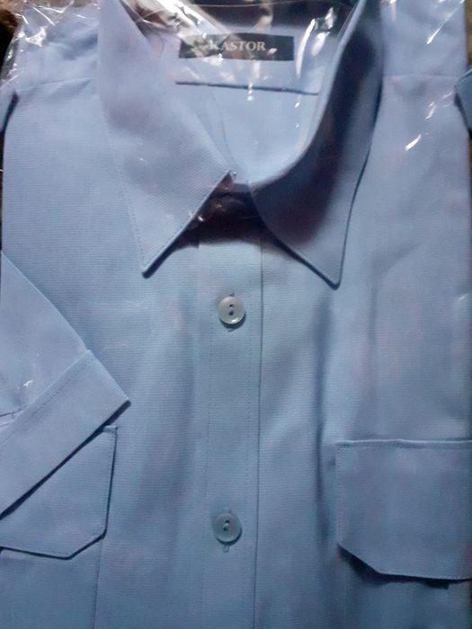 Koszula  niebieska  - Kastor 41-42 na 180 Zalasowa - image 1