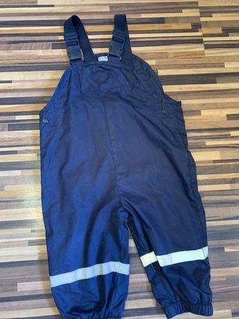 Водооталкивающий комбинезон штаны