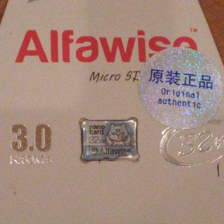 Micro SD Карта пам'яті (32GB) -Alfawise- Class 10 UHS-1