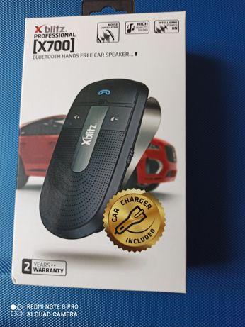Zestaw głośnomówiący mówiący xblitz 700 bluetooth