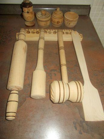Набор предметов для кухни деревянный (Закарпаття)