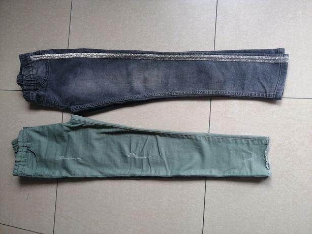 Spodnie dżinsowe 2 szt