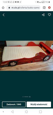 Szafa i łóżko z motywem Formuła 1