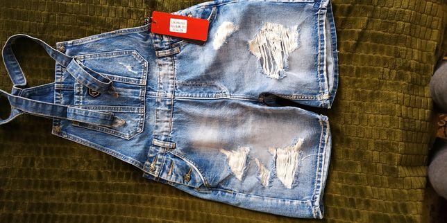 Продам новый джинсовый комбинезон