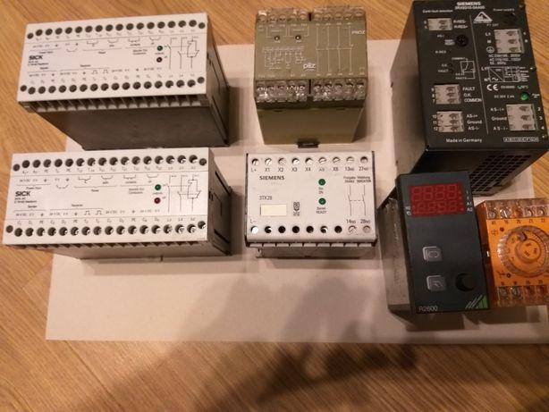 Контроллер, сканер, датчик, таймер, реле безопасности, реле тока.