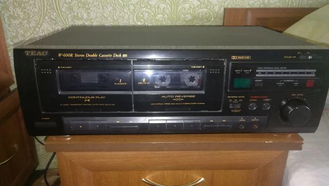 Продам TEAC W600R stereo double cassete deck