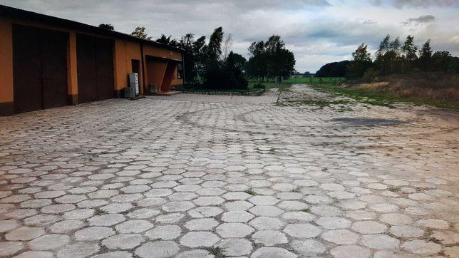 Parking Tir plac skladowy budowlany magazyn biuro spedycja logistyka