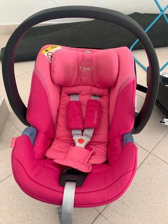 Cadeira auto Aton 5 Cybex Grupo 0m+ (rosa)