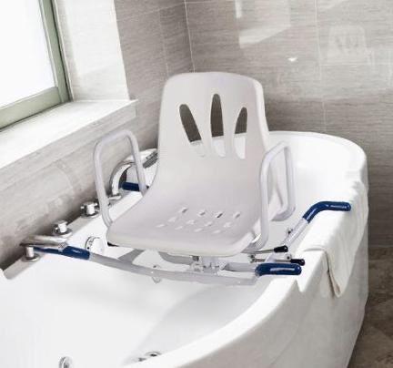 Cadeira giratoria para banho
