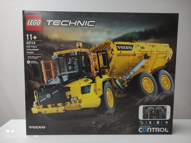 LEGO 42114 Wozidło Przegubowe Volvo Technic nowy