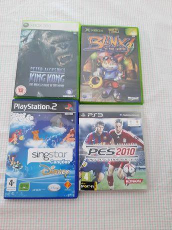 Lote de jogos Ps2, Ps3 , Xbox E Xbox 360