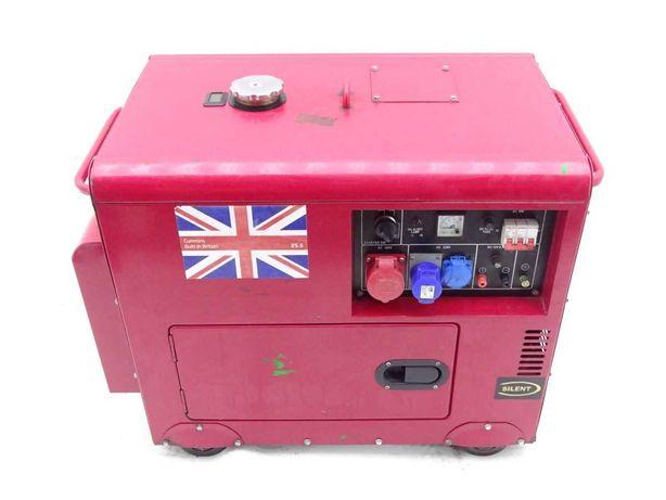 Agregat prądotwórczy diesel cuminns 5.5kw 240/380v