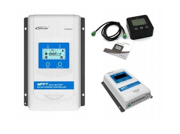 Regulator ładowania MPPT DO KAMPERA 2 X akumulator
