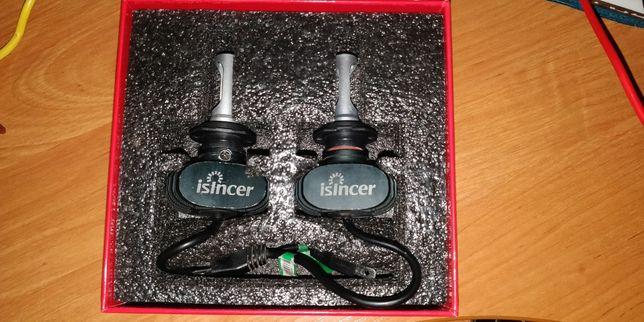 Светодиодные лампы ближнего света Isincer 8000lm H7