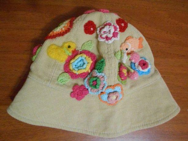 Шляпка-панамка для девочки TuTu 2-3 года (48-51см)