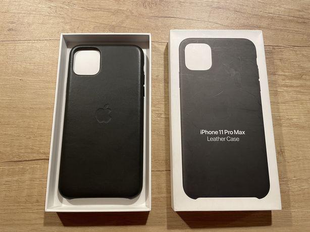 Etui Apple Leather Case iPhone 11 Pro Max Nowe / Paragon!