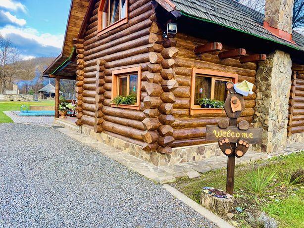 Відпочинок Закарпаття Карпати домик,будинок,садиба з чаном та басейном